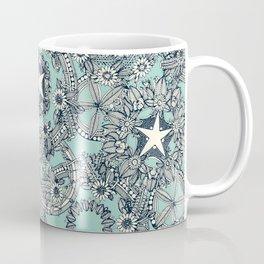cirque fleur duck egg Coffee Mug