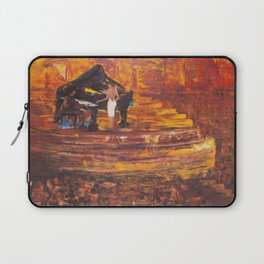 Piano Player with Singer Laptop Sleeve