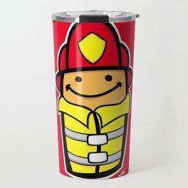 LBG Fireman. Travel Mug