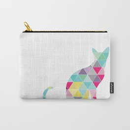Triangle Cat Carry-All Pouch