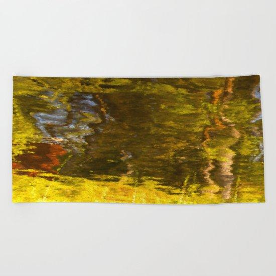 Abstract reflection I Beach Towel