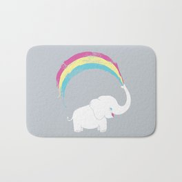 Elephant Painting! Bath Mat