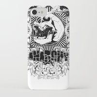 anarchy iPhone & iPod Cases featuring Anarchy scream by Tshirt-Factory