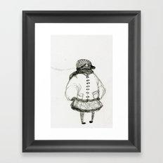 All Bundled Up Framed Art Print