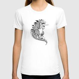 Godzilla. T-shirt