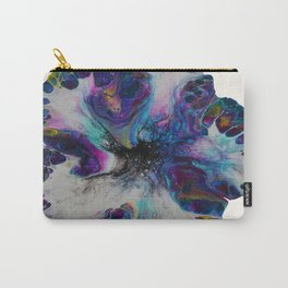 Galaxy Flower - off white Carry-All Pouch