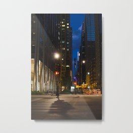 Quiet Evening in Chicago's Loop II Metal Print