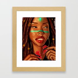 All Summer </3 Framed Art Print