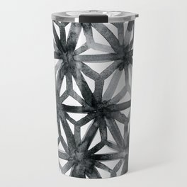 Charcoal Asanoha Travel Mug