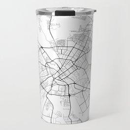 Minimal City Maps - Map Of Minsk, Belarus. Travel Mug