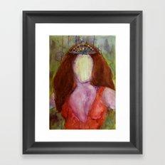 Goddess Framed Art Print