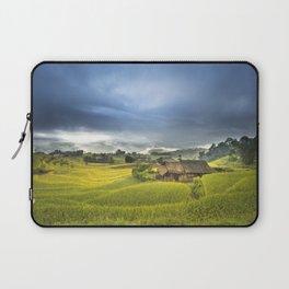 Vietnam Rice Cultivation Laptop Sleeve