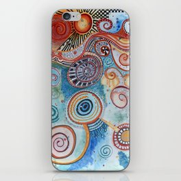 Cosmic Dance iPhone Skin