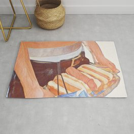 The Real American Hot Dog Rug