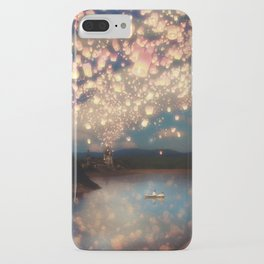 Love Wish Lanterns iPhone Case