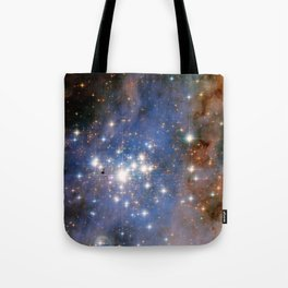 Star cluster Trumpler 14 in the Milky Way (NASA/ESA Hubble Space Telescope) Tote Bag