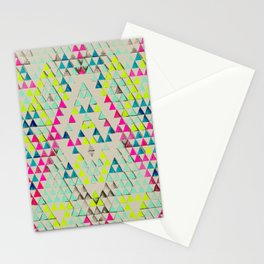 TRIANGLE SUMMER Stationery Cards