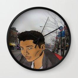 Baby Zaddy Raheem Wall Clock