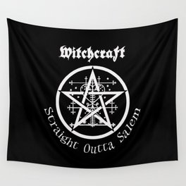 Witchcraft - Straight Outta Salem Wall Tapestry