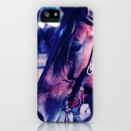 Horse-1-Blues iPhone Case