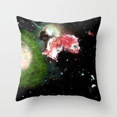 Birth of a Nebula Throw Pillow