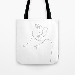 Flirty Look Tote Bag