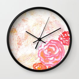 imaginary garden Wall Clock