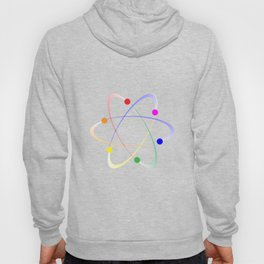LGBT Whirling Atoms Hoody