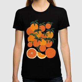 Orange Harvest - White T-shirt