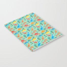 Dinos Green Notebook