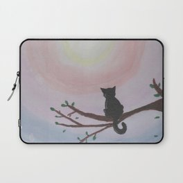 Watching a Hopeful Sunset Laptop Sleeve
