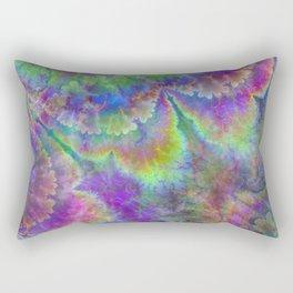 abstract 004: acidic Rectangular Pillow