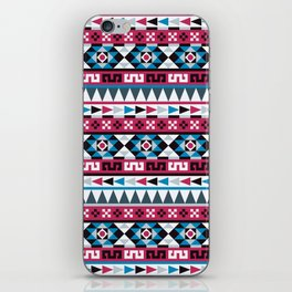 Aztec Geometric Pattern iPhone Skin