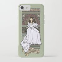 theatre iPhone & iPod Cases featuring Theatre de la Labyrinth by Karen Hallion Illustrations
