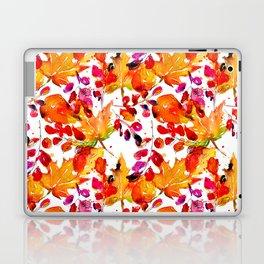 Watercolor autumn leaves Laptop & iPad Skin