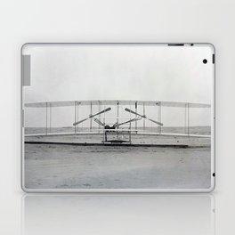 The Wright Brother's aeroplane Laptop & iPad Skin
