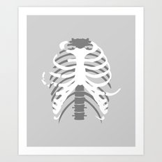 Your Body On Skate Art Print