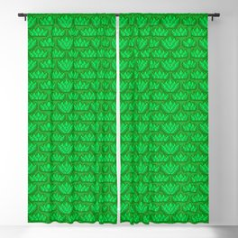 Sunny Summer Pixel Print Blackout Curtain
