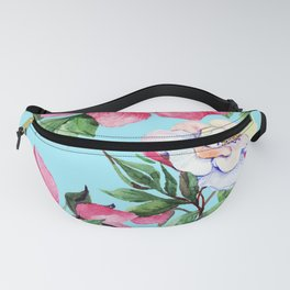 Clic Floral Elegance Luxurious Design Fanny Pack