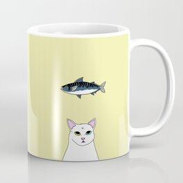 Fat D. Loves Fish Coffee Mug