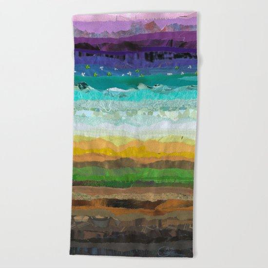 Sunday Brunch Beach Towel