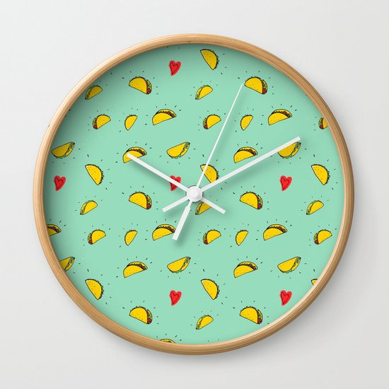 Taco Tuesday Wall Clock