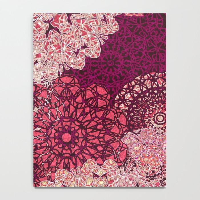 Terra Rose Mandalas Notebook