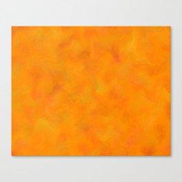 Costinamare - orange waves Canvas Print
