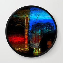 Abstract Certainty Wall Clock
