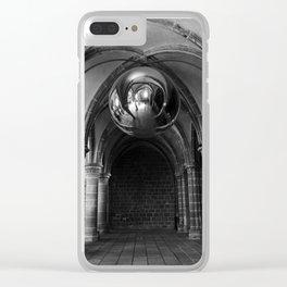 Silent Moment at Mont Saint-Michel Clear iPhone Case
