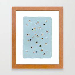 Dusty blue II Framed Art Print