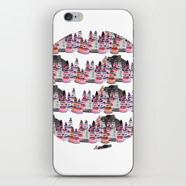Bear and macaroons!  iPhone Skin