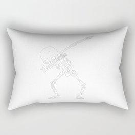 Dabbing Skeleton Rectangular Pillow