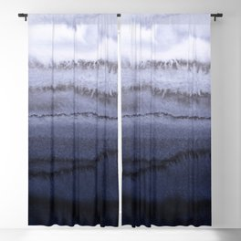 WITHIN THE TIDES BLUE Blackout Curtain